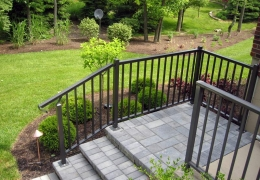 Series 900 Bronze Aluminum Railing