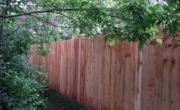Cedar Dog Ear Privacy
