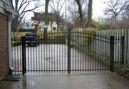 Arched Drive Gate UAS-100