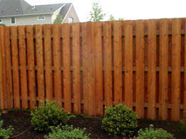 front wood privacy