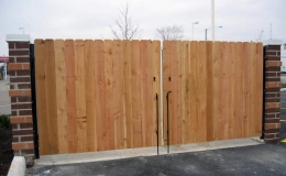 Commercial Dumpster Gates