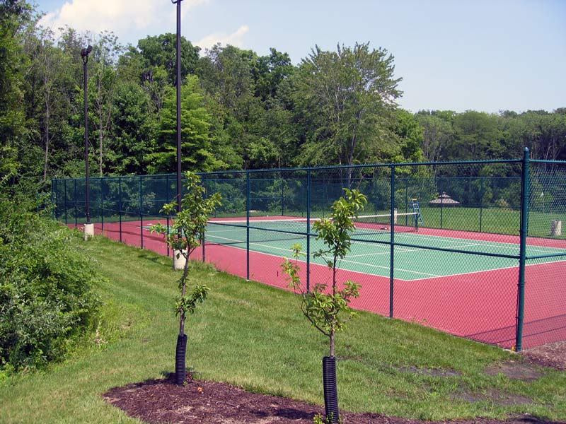 Tennis Court Fence In Vinyl