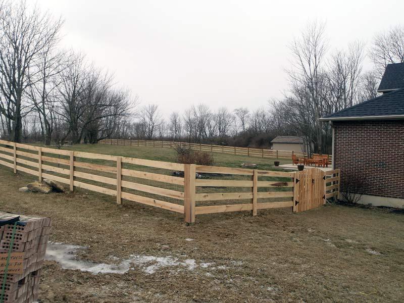 Kentucky Board Fence