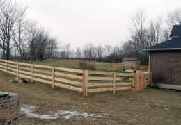 Kentucky Board Fence
