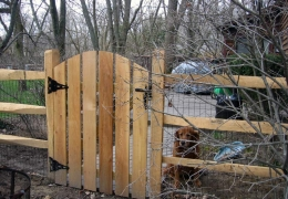 Gate For Split Rail